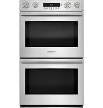 GE Monogram ZET2SHSS 30  Euro Style Electronic Convection Double Wall Oven