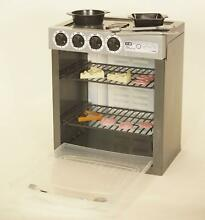 Kenmore Interactive Kids Electronic Stove Play Set Oven Kitchen Bake Cooking Fun