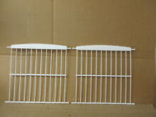 LG Refrigerator Freezer Rack 12 5 8  deep Lot of 2 Part   5027JJ1100A