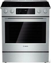 Bosch 800 30  5 Elements Slide in Smoothtop Electric Range HEI8054U Excellent