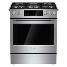 Bosch HDI8054U 30  Slide in Dual Fuel Range