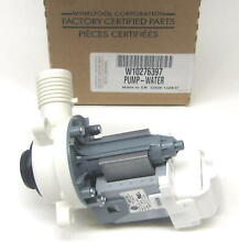 W10276397 Whirlpool Kenmore  Washer Water Drain Pump Motor AP4514539 PS2580215