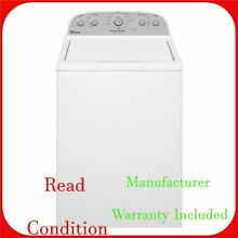 Whirlpool 4 3 cu  ft  High Efficiency White Top Load Washing Machine