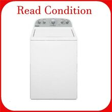 Whirlpool 3 9 cu  ft  High Efficiency White Top Load Washing Machine