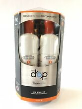 Every Drop Whirlpool Ice   Water Refrigerator Filter EDR2RXD2 Two Pack New