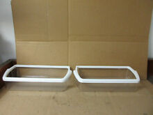 Kenmore Whirlpool Refrigerator Fridge Section Door Shelf Lot of 2 Part   2179607