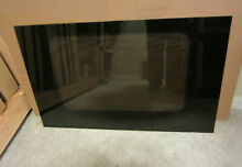 GE Wall Oven  Outer Door Glass  Black  WB57T10173