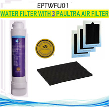 EPTWFU01  1 2 3 Paultra Air Fridge  Water filter  EPTWFU01 Filter for FGHB2868