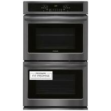 Frigidaire FFET3026TD 30  Black Stainless Steel Double Electric Wall Oven