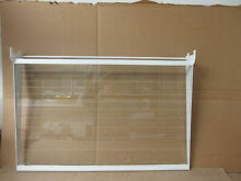 Whirlpool Refrigerator Glass Shelf in Frame Part   2201103 2177824