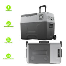 Portable Electric Freezer Refrigerator Cooler AC DC Compressor  40 Liter