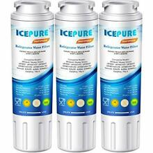 ICEPURE UKF8001 Replacement Refrigerator Water Filter  Puriclean II 3PACK