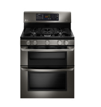 LG 30  Freestanding Gas Range with Convection Black StainlessSteel LDG3036BD