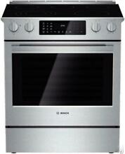 Bosch Benchmark Series 30  5 Elements SelfClean Slide in Electric Range HEIP054U