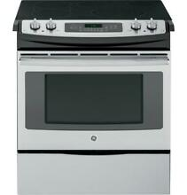 GE JS750SFSS 30  Slide In Front Control Electric Convection Range