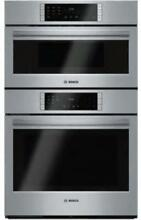 Bosch 800 Series 30  10 Cooking Program Microwave Combination Oven HBL87M52UC IM