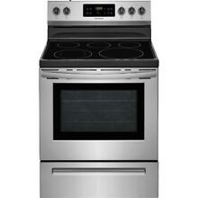 Frigidaire FFEH3054US 30  Electric Stainless Steel Range w Flexible Cooktop