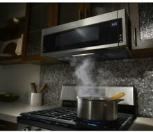 Low Profile Microwave Over The Range Combination Fingerprint Resistant Stainless