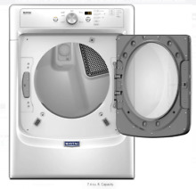 Maytag MGD3500FW 27 Inch 7 4 cu  ft  GAS Dryer with PowerDry Brand New