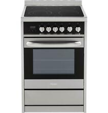 Haier HCR2250AES 24  Stainless Steel 2 0 Cu  Ft  Electric Free Standing Range
