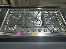 Monogram ZGU385NSMSS 36 Inch Gas Cooktop with 5 Sealed Dual  Display