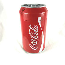Coca Cola Coke Can Mini Fridge Refrigerator Koolatron Portable Cooler Tested