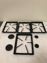 Four Maytag Whirlpool Jenn Air Range Gas Cooktop Grate Black Replacement