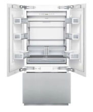 Thermador 36  Built In French Door Refrigerator LED Lights Stainless T36IT800NP