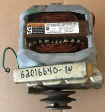 MAYTAG WASHER MOTOR  6 2016640 14