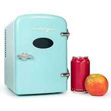 Nostalgia Rf6Rraq Retro 6 Can Personal Cooling And Heating Refrigerator With Car