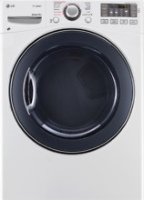 LG SteamDryer 27  Gas Dryer with TrueSteam 7 4 cu  ft NO BLEMISHES   DLGX3571W