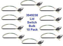 3949238 Washer Door Lid Switch for Whirlpool   Kenmore New 10 Pack Bulk New