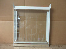 Whirlpool Refrigerator Snack Pan Shelf w  Glass Part   1122729 2148208