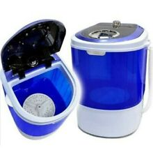 Mini Portable Compact Washing Machine Semi Automatic Dorm Apartment laundry