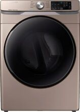 Samsung DVG45R6100C 27 Inch Gas Dryer with Steam Sanitize
