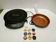 NuWave PIC Gold Precision Induction Cooktop  30201 w  9  skillet Fry Pan