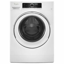 Whirlpool WFW5090GW 24 Inch 2 3 cu  ft  Compact Front Load Washer