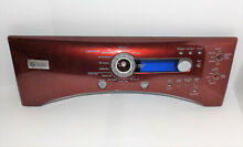 GE Profile Dryer   Control Selection Panel   Red  212D1410   P3989