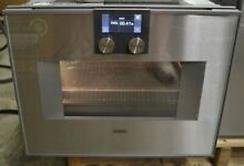 Gaggenau BM450710 1 3 cu ft 24  Wall Microwave Convection Oven 220V  Right