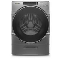 Whirlpool WFW8620HC 27 Inch Front Load Washer with Load   Go  XL Dispenser