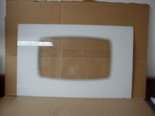 Maytag Range Outer Door Glass White Part   74009732