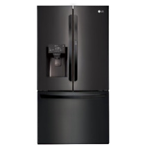 LG 36 French Door Refrigerator with Door In Door 27 7 cu  ft LFXS28566M