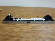 9001048072 bosch dishwasher front face panel with control board