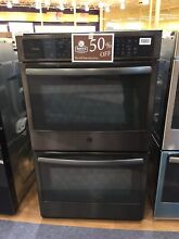 OC0022 PT7550BLTS 30  GE Profile Series Built In Double Wall Convection Oven