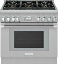 Thermador Pro Harmony Professional 36  Smart Pro Style Gas Range PRG366WH