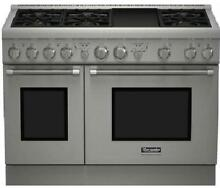 NIB Thermador Pro Harmony Professional 48  SS Pro Style Gas Range PRG486GDH