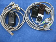 DRYER   RANGE CORDS   RECEPTACLES   USED   LOT OF 11