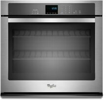OC0077 WOS51EC7HS 27  Whirlpool Smart Single Oven with Touchscreen