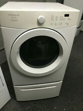 Frigidaire Affinity Electric Front Load Dryer w  Pedestal  Model  FAQG7111LW1