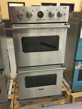 OC0095 VEDO5272SS 27  Viking Double Electric Wall Oven
